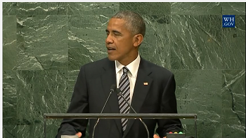 President Obama Speaks at the General Assembly